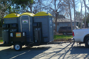 Construction Restroom Trailers